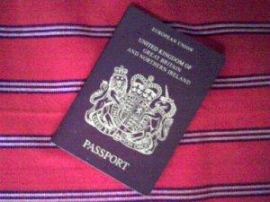 Sacha's long lost passport